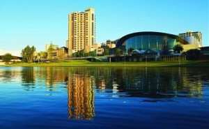 Adelaide South Australia increase domestic international tourism the Oval events festivals lively capital Distant Journeys escorted tours travel holidays flights accommodation Melbourne Sydney Cairns Alice Springs Ayers Rock New Zealand