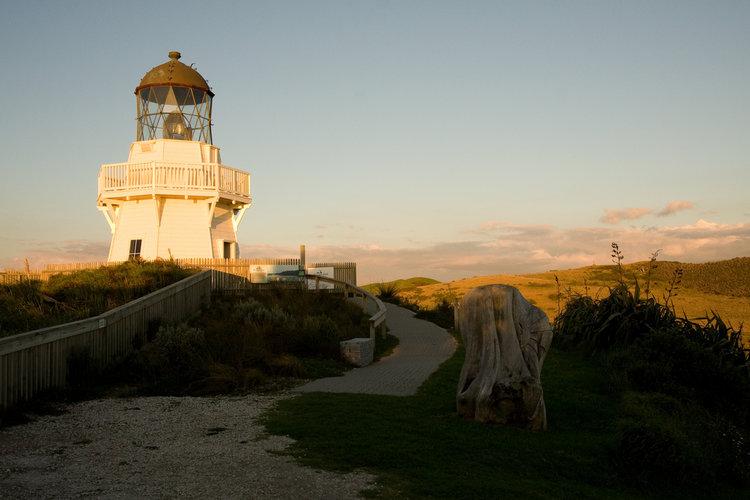 Manakau heads lighthouse awhitu peninsula