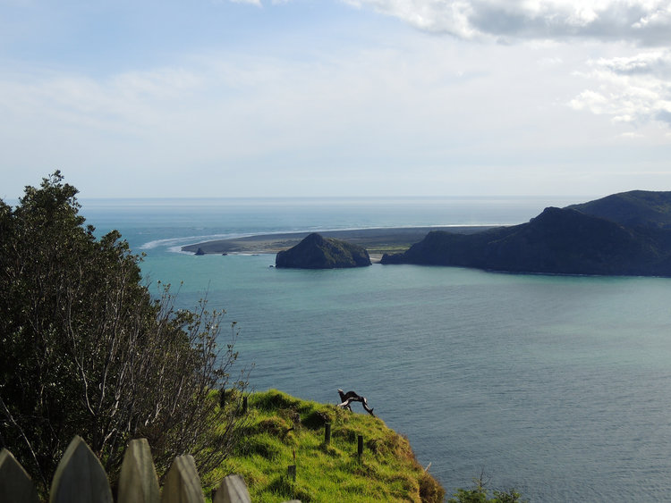 Whatipu coastal view Awhitu peninsula
