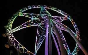 Melbourne Star Observation Wheel attractions on Melbourne Coach Tours with Distant Journeys