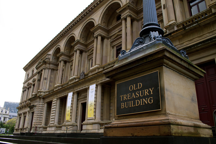 The Old Treasury building melbourne