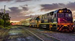Indian Pacific and The Ghan railways on luxury tours of Australia with Distant Journeys