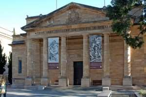 Art Gallery North Terrace Adelaide attractions tours of Australia Distant Journeys