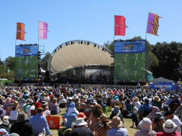 WOMADelaide arts events on Australia escorted family tours with Distant Journeys