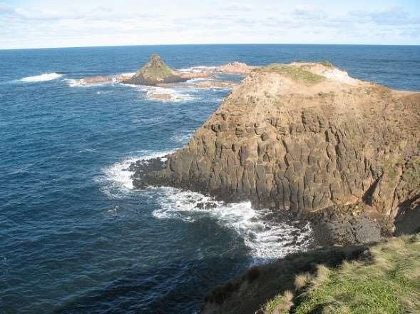 Phillip Island scenery on Australia escorted family tours with Distant Journeys