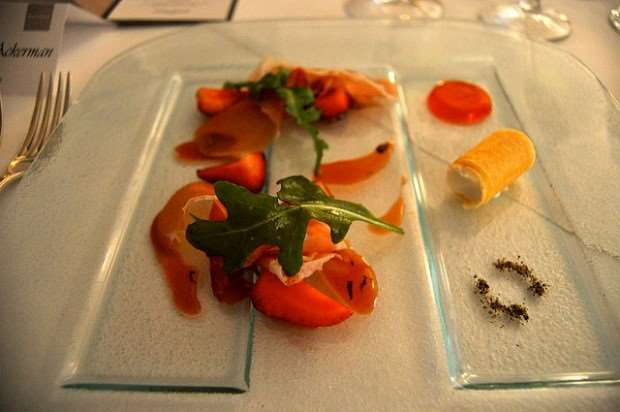 Gourmet cuisine on Australia escorted family tours with Distant Journeys