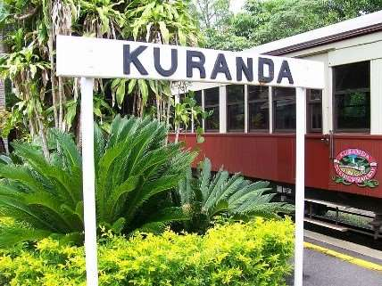 Kuranda village - an optional excursion on Cairns Barrier Reef tours