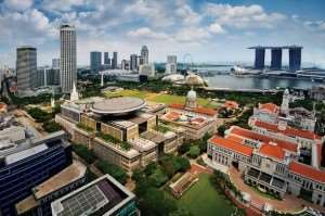 Civic District Singapore Asian city stopover Australia and New Zealand tours Distant Journeys