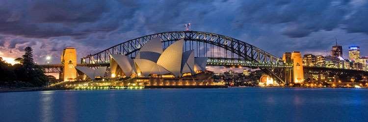 Sydney Opera House travel to Australia holiday tour Distant Journeys