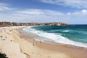 Bondi Beach Australia visit on Sydney holiday tours with Distant Journeys