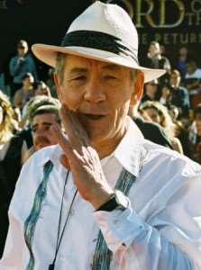 Sir Ian McKellen at Lord of the Rings Premier – Distant Journeys