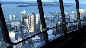 View from Sky Tower observation platform