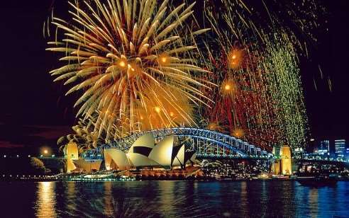 New Year's Eve at Sydney Harbour