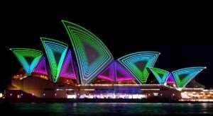 Vivid Sydney, annual event enjoyed on our Australia escorted tours