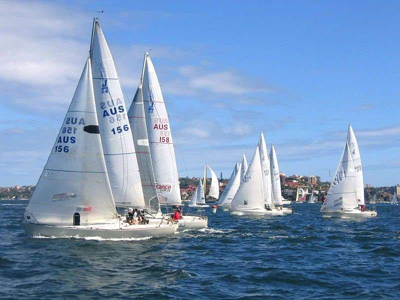 Sydney Harbour Regatta, annual event enjoyed on our Australia escorted tours
