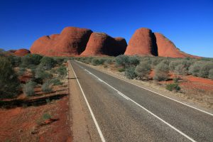 the olgas rocks australian outback