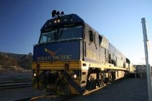 Ride the Indian Pacific railway as part of a Distant Journeys Visions of Australia tour