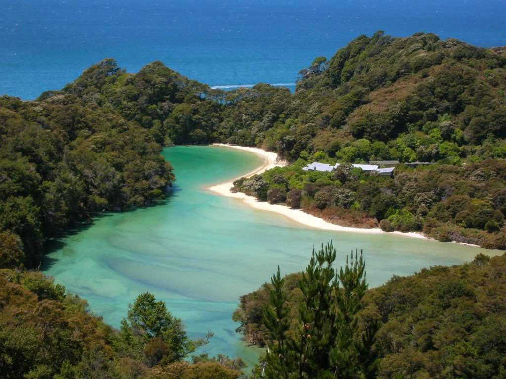 Abel Tasman National Park visited on our Distant Journeys New Zealand escorted tours