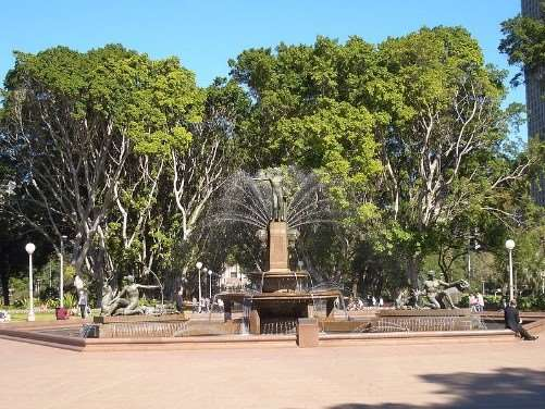 Hyde Park - picnic spots in Sydney to enjoy on Australia group tour holidays