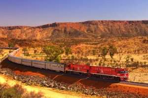 The Ghan, a trip offered with Distant Journeys australia tour holidays