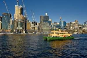 Barangaroo, available to visit on your Sydney freedom days on tours with Distant Journeys