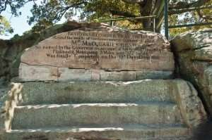 See Mrs Macquarie's Chair on our Australia escorted tours