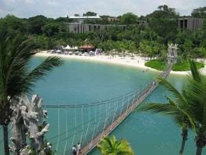 Sentosa Island – a return stopover destination on our holidays to Australia or New Zealand