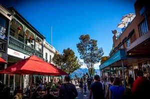 Downtown Queensland restaurants, can be visited on Distant Journeys New Zealand holidays