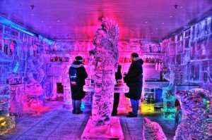 Queenstown Ice Bar, can be visited on Distant Journeys New Zealand holidays