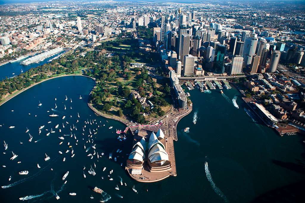 View of Sydney, which is visited on Distant Journeys Australia Tours