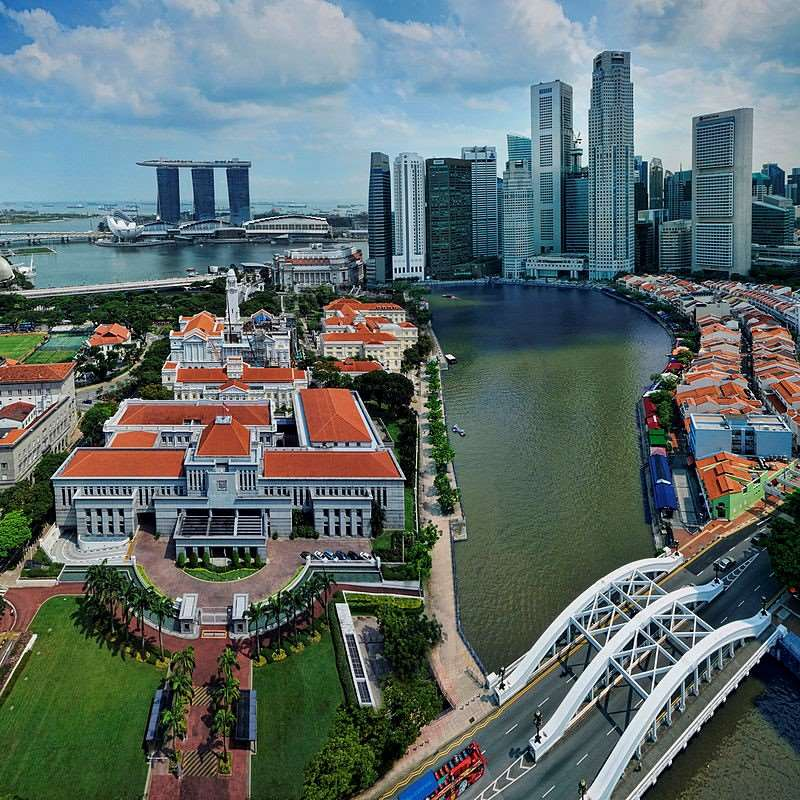 Visit Singapore as a stopover on Distant Journeys holidays to Australia