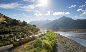 TranzAlpine railway, New Zealand