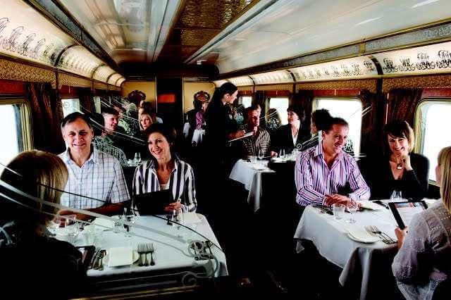 Queen Adelaide Restaurant - The Ghan Rail Australia