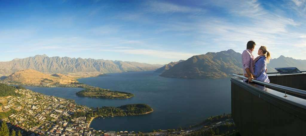 Queenstown, New Zealand Mountain View