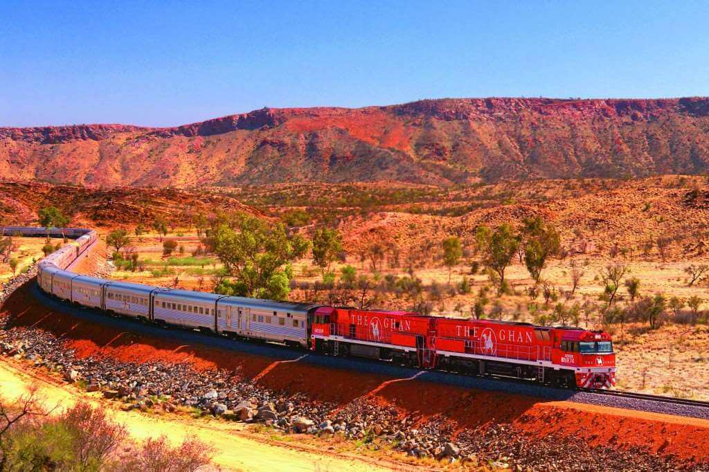Ghan Train Railway Journey