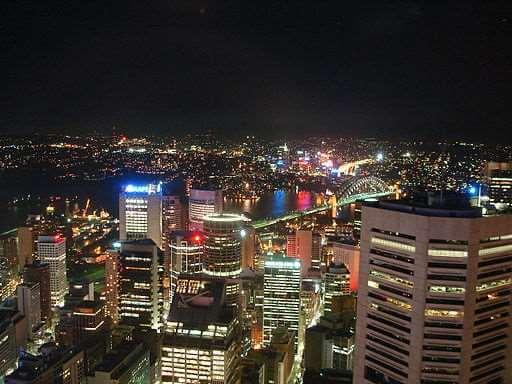 Sydney Nighttime View