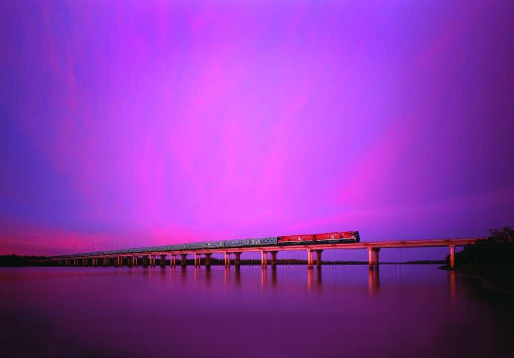 The Ghan Rail Journey Australia