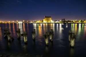 Adelaide Port Nighttime