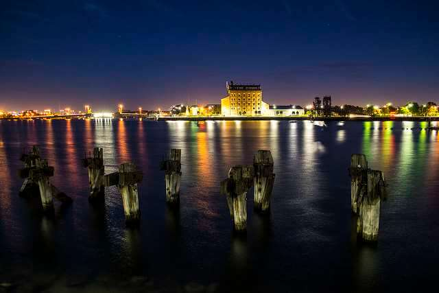 Adelaide Port Nighttime