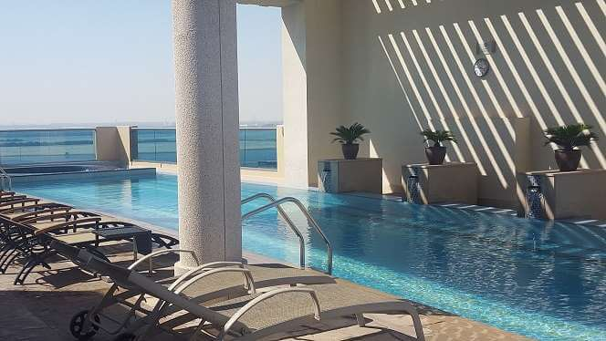 pool marriott hotel al jaddaf dubai