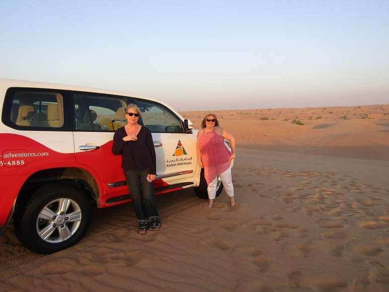 the sundowner dune dinner safari