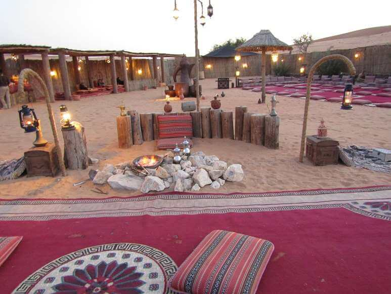 traditional beduin camp dubai
