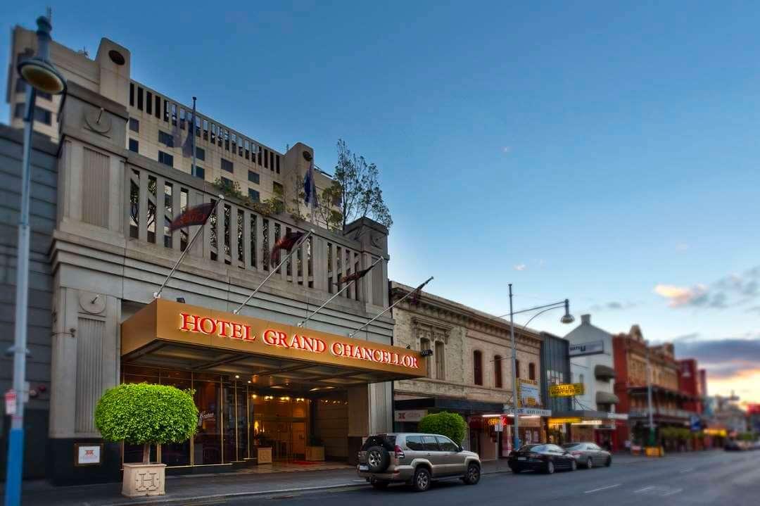 Grand Chancellor hotel exterior