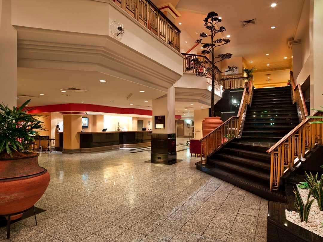 Grand Chancellor hotel reception