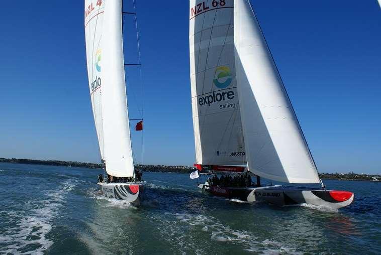 AKL Americas Cup Sailing