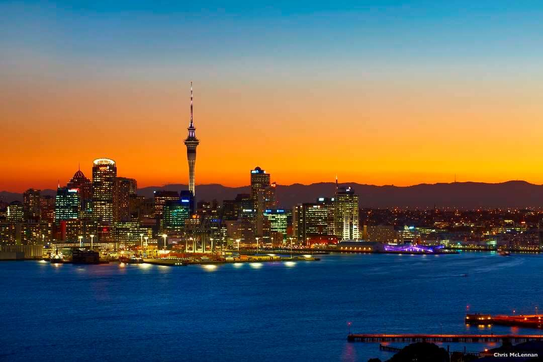 Auckland twilight