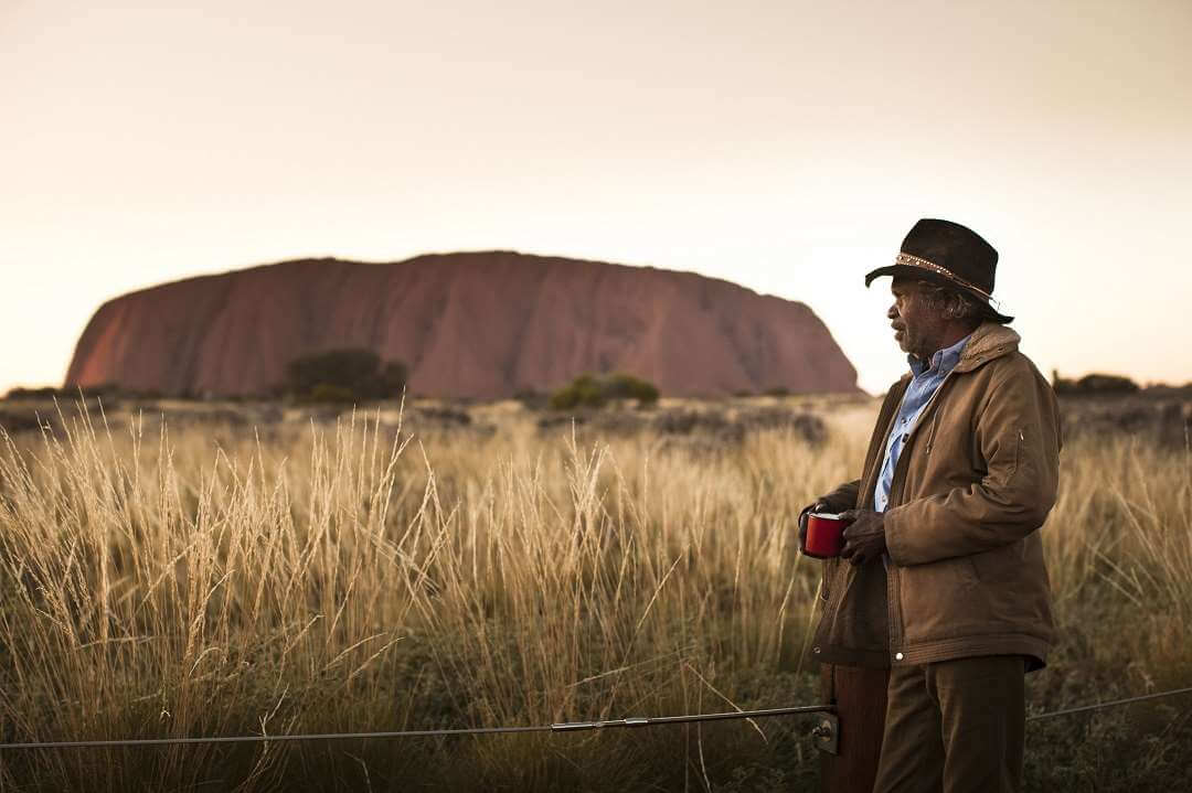 Ayers Rock Aborigine