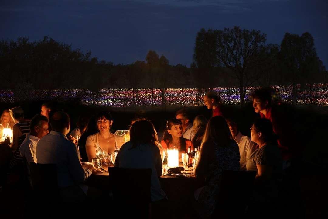AYQ Night at Field of Light
