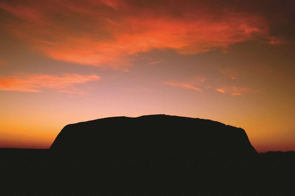 AYQ Uluru silhouette