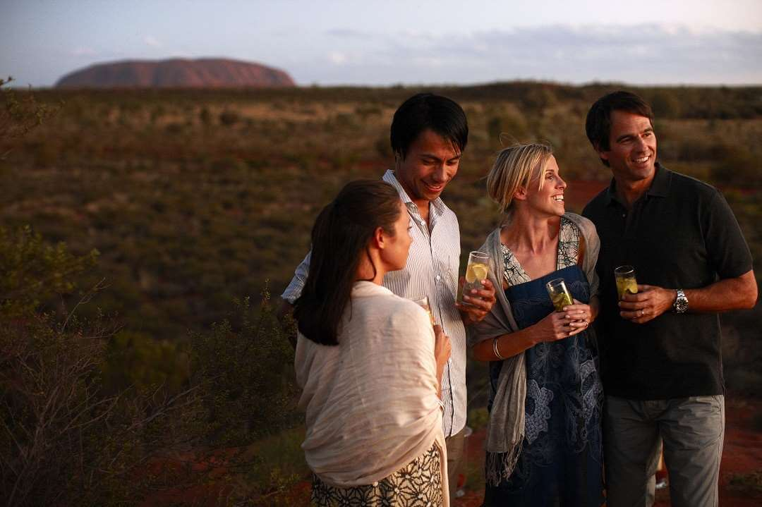 Ayers Rock sunset drink